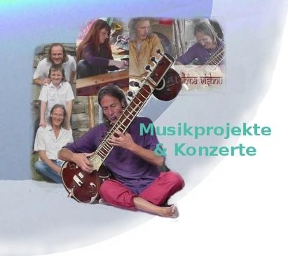 Musikprojekte und Konzerte