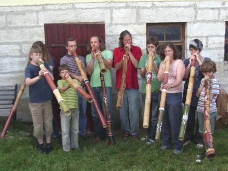Didgeridoo Bau-und Spielkurs