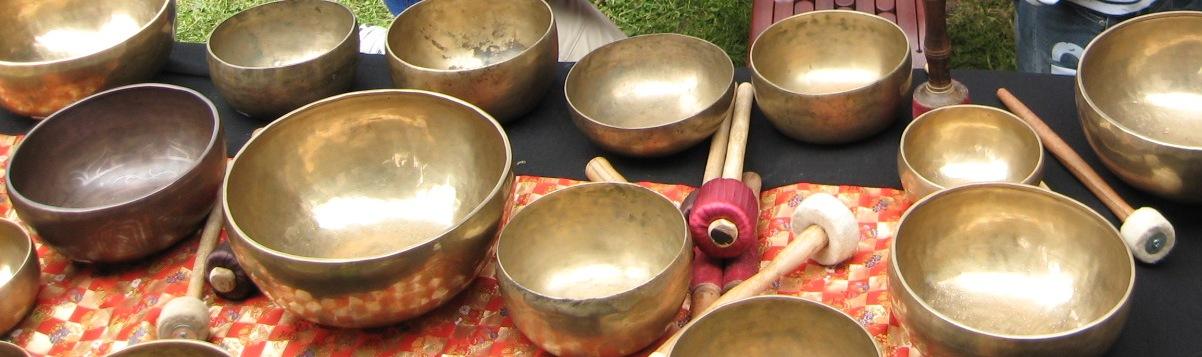 Indische Klangschalen